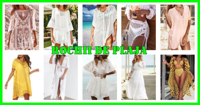 rochii de plaja ieftine modele noi 2021